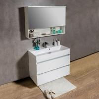 Мебель для ванной комнаты Шкафчик с умывальником FANCY MARBLE Sherman + Signe 1000
