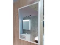 Мебель для ванной комнаты Зеркало FANCY MARBLE 7070MW 70х70 (белый)