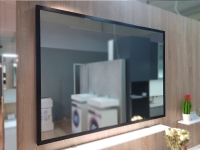 Мебель для ванной комнаты Зеркало FANCY MARBLE 9070MB 90х70 (черный)