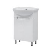 Мебель для ванной комнаты Шкафчик с умывальником ЮВВИС Амелия Изео 55 Т-1