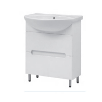 Мебель для ванной комнаты Шкафчик с умывальником ЮВВИС Амелия Изео 65 Т-2