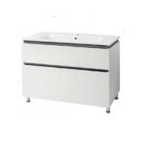 Мебель для ванной комнаты Шкафчик с умывальником ЮВВИС Этна 105 ТНБ-2 Д серый