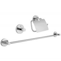 Аксессуары для ванной комнаты Набор аксессуаров GROHE Essentials 3в1 40775001