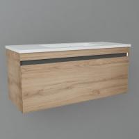 Мебель для ванной комнаты Шкафчик с умывальником DEVIT UP 0022120L 100
