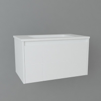 Мебель для ванной комнаты Шкафчик с умывальником DEVIT Laguna 0021110W 80