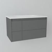 Мебель для ванной комнаты Шкафчик с умывальником DEVIT Laguna 0021110A 80