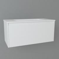 Мебель для ванной комнаты Шкафчик с умывальником DEVIT Laguna 0022110W 100