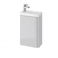 Мебель для ванной комнаты Шкафчик с умывальником CERSANIT Moduo 40 (B09) - серый