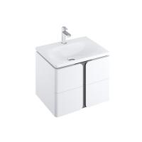 Мебель для ванной комнаты Шкафчик под умывальник RAVAK SD Balance 60х46,5 (белый/графит)