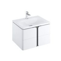 Мебель для ванной комнаты Шкафчик под умывальник RAVAK SD Balance 80х46,5 (белый)