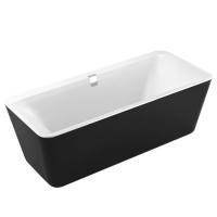 Акриловые ванны Ванна VOLLE Altea (180x80) - черно/белая
