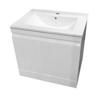 Мебель для ванной комнаты Шкафчик с умывальником VOLLE Orlando 60 (Белый)