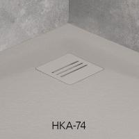 Комплектующие Решетка для поддона RADAWAY Kyntos HKA-74 (цемент)