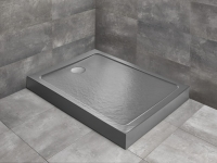 Душевые поддоны Душевой поддон RADAWAY Doros F Compact Stone Anthracite 120х80