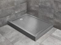 Душевые поддоны Душевой поддон RADAWAY Doros F Compact Stone Anthracite 120х90