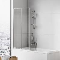 Шторки для ванной Шторка для ванны NEW TRENDY Trex (80x140)