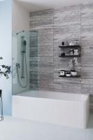 Шторки для ванной Шторка для ванны VELINO Anima - 60 (Сатин)