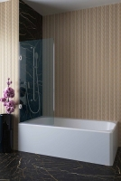 Шторки для ванной Шторка для ванны VELINO Vancouver - 50 (Прозрачный)
