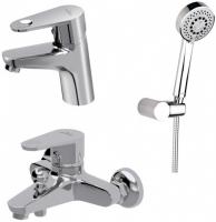 Смесители для ванны Набор смесителей CERSANIT Lano S601-125