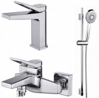 Смесители для ванны Набор смесителей CERSANIT Cromo S601-127