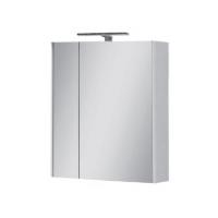 Мебель для ванной комнаты Шкафчик с зеркалом ЮВВИС Эльба Z-60 с подсветкой