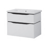 Мебель для ванной комнаты Шкафчик с умывальником ЮВВИС Сенатор Веста 80 ТПБ-2 Д