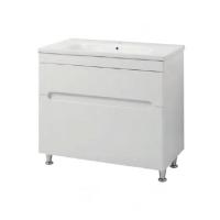 Мебель для ванной комнаты Шкафчик с умывальником ЮВВИС Модена Етна 100 ТНБ-2 Д