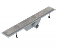 Душевые трапы Линейный трап VOLLE 70 см. 90-22-701 - с решеткой под плитку