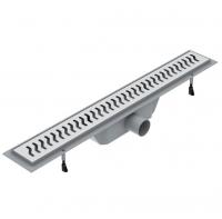 Душевые трапы Линейный трап VOLLE 80 см. 90-22-803 - с решеткой