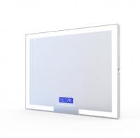 Мебель для ванной комнаты Зеркало VOLLE 80x60 с подсветкой, подогревом, bluetooth, часы