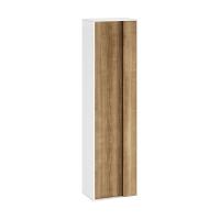 Мебель для ванной комнаты Пенал RAVAK SB 430 Step 43x29x160 (белый/орех)