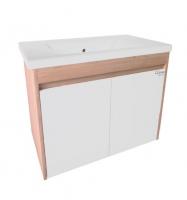 Мебель для ванной комнаты Шкафчик с умывальником RADAWAY Classic + Soft 80