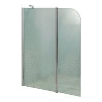 Шторки для ванной Шторка для ванны LIDZ Brama Brama SS120x140.CRM.FR Frost L/R