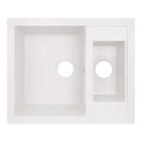 Кухонные мойки Кухонная мойка LIDZ 615x500/200 WHI-01 (LIDZWHI01615500200)