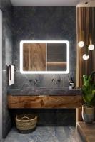 Мебель для ванной комнаты Зеркало ANDORA Alda 90x70 LED