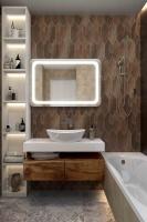Мебель для ванной комнаты Зеркало ANDORA Agatha 100x80 LED