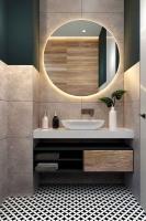 Мебель для ванной комнаты Зеркало ANDORA Brida Ø 70 LED