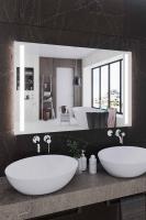 Мебель для ванной комнаты Зеркало ANDORA Brigitte 90x70 LED