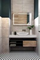 Мебель для ванной комнаты Зеркало ANDORA Colombina 100x90 LED