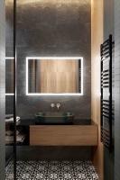 Мебель для ванной комнаты Зеркало ANDORA Gemma 90x70 LED