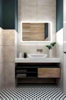 Мебель для ванной комнаты Зеркало ANDORA Krosetta 100x80 LED