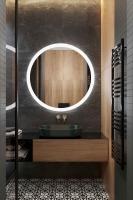Мебель для ванной комнаты Зеркало ANDORA Seleste Ø 65 LED
