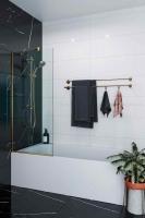 Шторки для ванной Шторка для ванны VELINO Anima Bronze - 60 (Бронза)