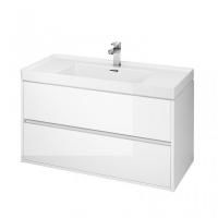 Мебель для ванной комнаты Шкафчик под умывальник CERSANIT Crea 100 (белый)