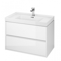 Мебель для ванной комнаты Шкафчик под умывальник CERSANIT Crea 80 (белый)