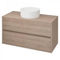 Мебель для ванной комнаты Шкафчик под умывальник CERSANIT Crea 100 (Дуб)