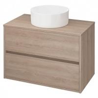 Мебель для ванной комнаты Шкафчик под умывальник CERSANIT Crea 80 (Дуб)