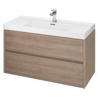 Мебель для ванной комнаты Шкафчик под умывальник CERSANIT Crea 100 (Дуб) S924-011