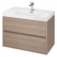 Мебель для ванной комнаты Шкафчик под умывальник CERSANIT Crea 80 (Дуб) S924-009