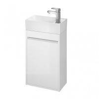 Мебель для ванной комнаты Шкафчик под умывальник CERSANIT Crea 40 (белый)